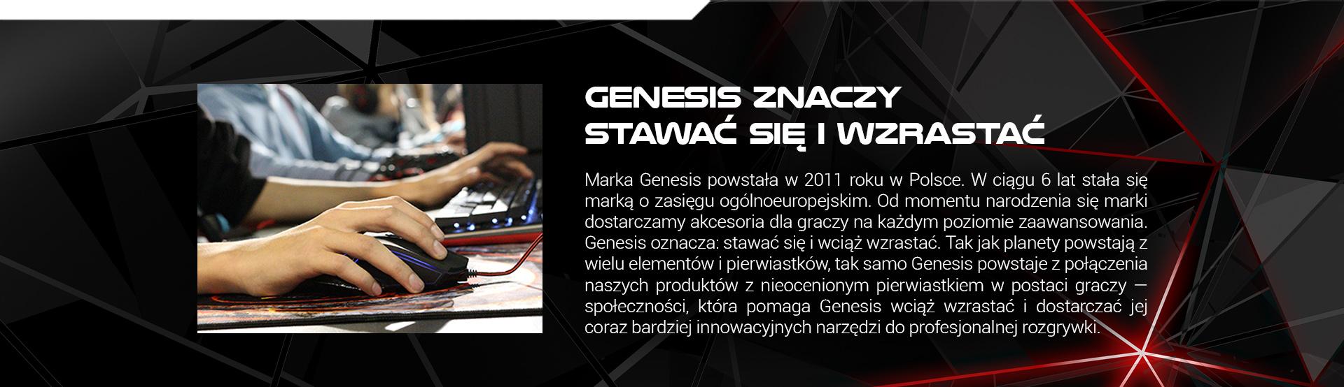 KLAWIATURA DLA GRACZY GENESIS RHOD 220 US