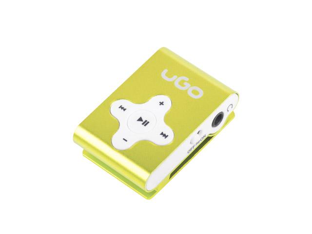 ODTWARZACZ MP3 UGO YELLOW MP3 / WMA KLIPS